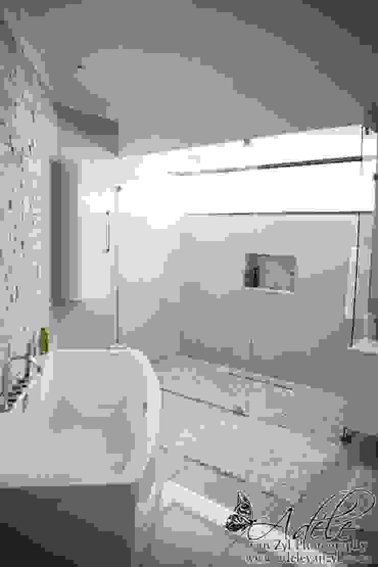 House Shenck Rerh Modern bathroom by Rudman Visagie Modern