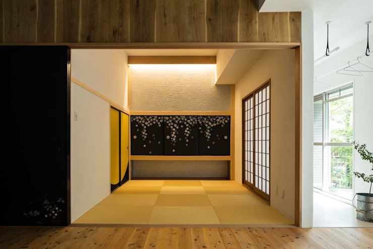 6th studio / 一級建築士事務所 スタジオロク Asian style media room
