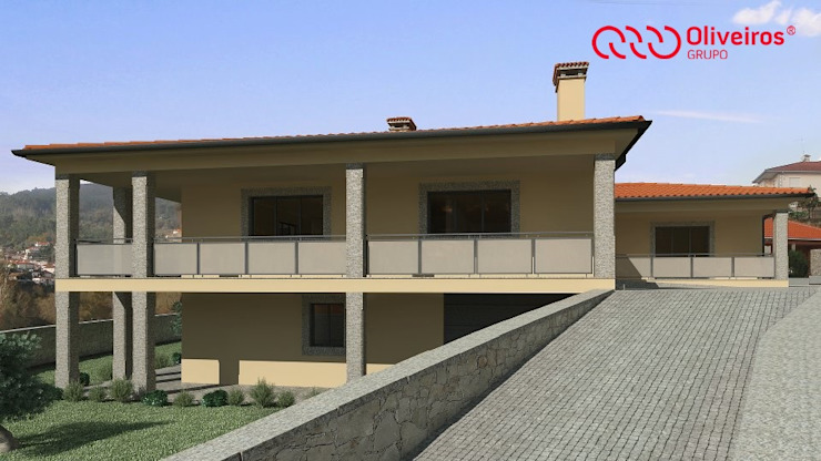 1171-MC-1110 Casas modernas por Oliveiros Grupo Moderno