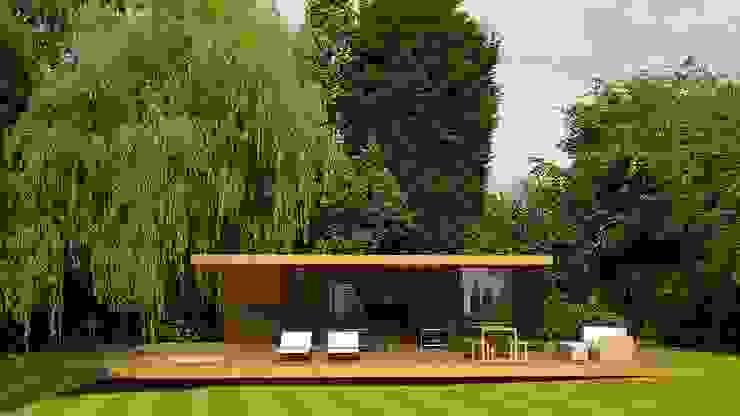 House 134 Minimalistische garage van Andrew Wallace Architects Minimalistisch