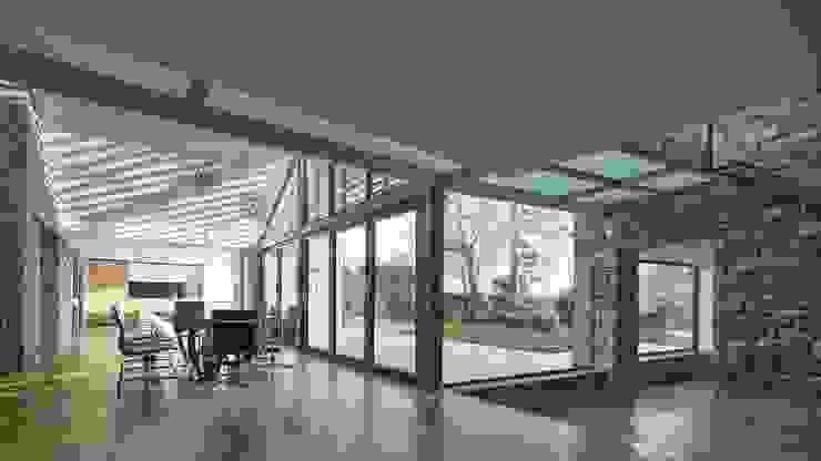House 141 Hình ảnh cửa sổ & cửa ra vào phong cách tối giản bởi Andrew Wallace Architects Tối giản