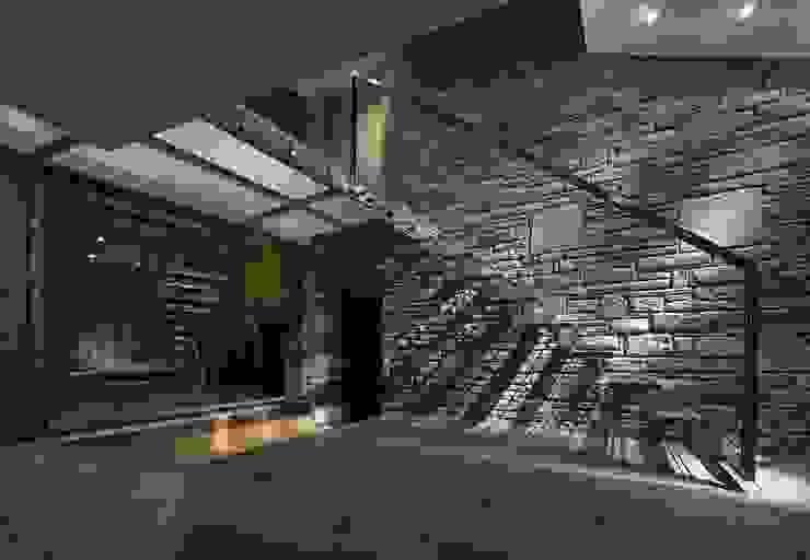 House 141 Hành lang, sảnh & cầu thang phong cách tối giản bởi Andrew Wallace Architects Tối giản