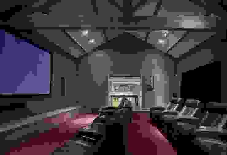 House 141 Phòng giải trí phong cách tối giản bởi Andrew Wallace Architects Tối giản