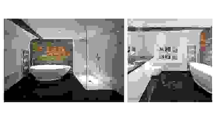 House 141 Phòng tắm phong cách tối giản bởi Andrew Wallace Architects Tối giản