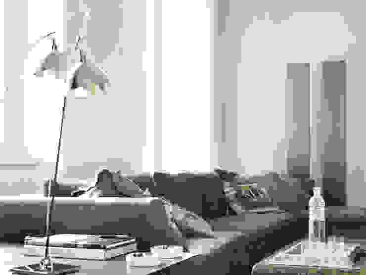 Architetto Silvia Giacobazzi 现代客厅設計點子、靈感 & 圖片