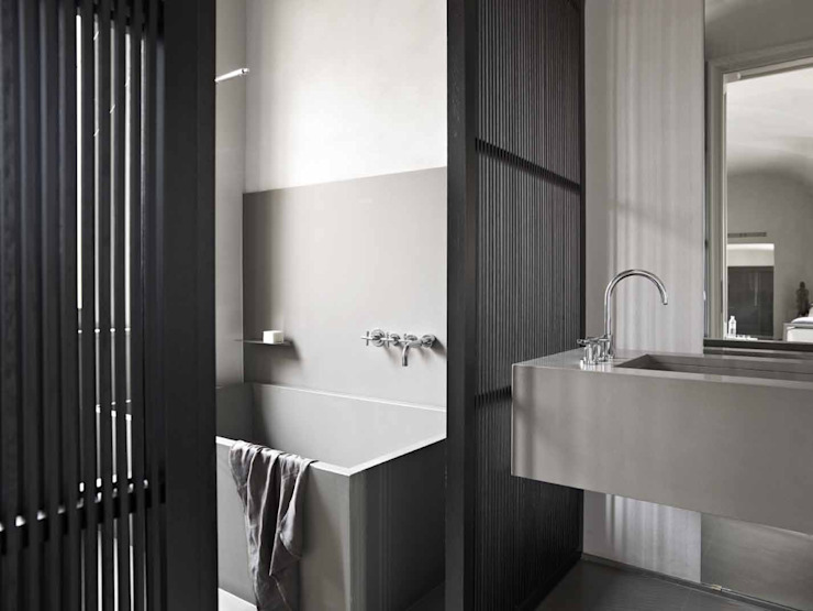 Architetto Silvia Giacobazzi 現代浴室設計點子、靈感&圖片
