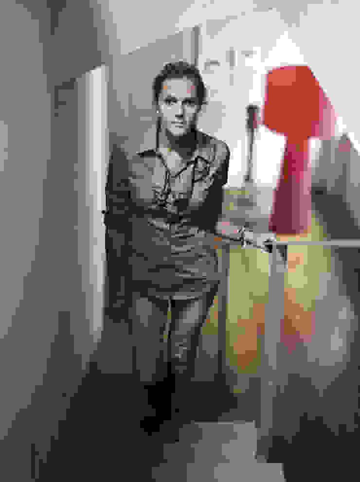 Architetto Silvia Giacobazzi 現代風玄關、走廊與階梯