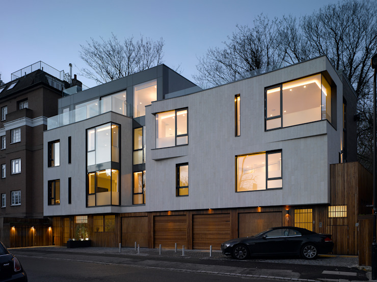Nutley Terrace Belsize Architects Modern houses