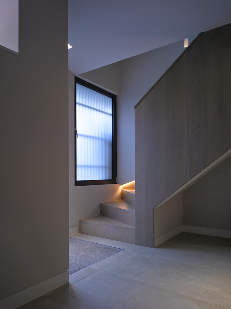 Nutley Terrace Belsize Architects Modern Corridor, Hallway and Staircase