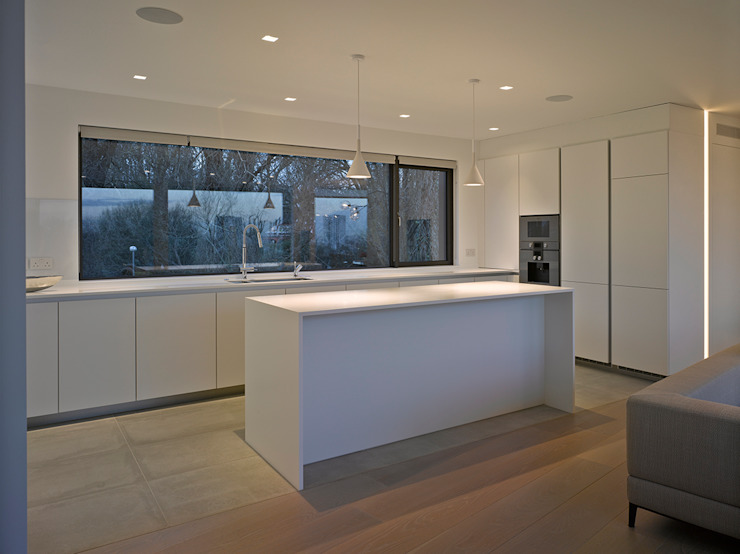 Nutley Terrace Belsize Architects Modern style kitchen