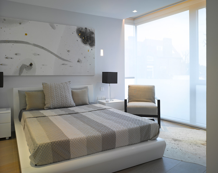 Nutley Terrace Belsize Architects Modern style bedroom