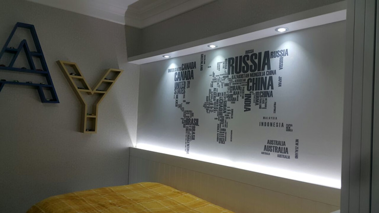 Özel Tasarım Country Genç Odası Kırsal Çocuk Odası MOBİLYADA MODA Kırsal/Country Ahşap Ahşap rengi
