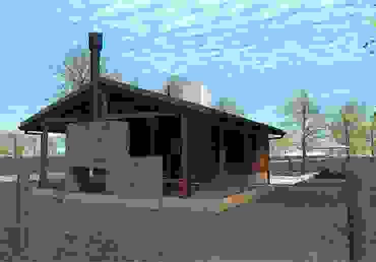 CABAÑAS DE MADERA – SANTA ROSA DE CALCHINES Casas minimalistas de D'ODORICO arquitectura Minimalista