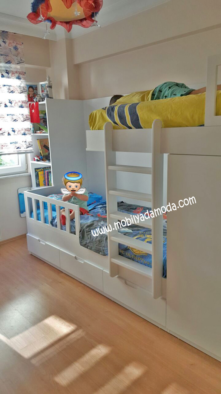 Özel Tasarım Ranza Modern Çocuk Odası MOBİLYADA MODA Modern Ahşap Ahşap rengi