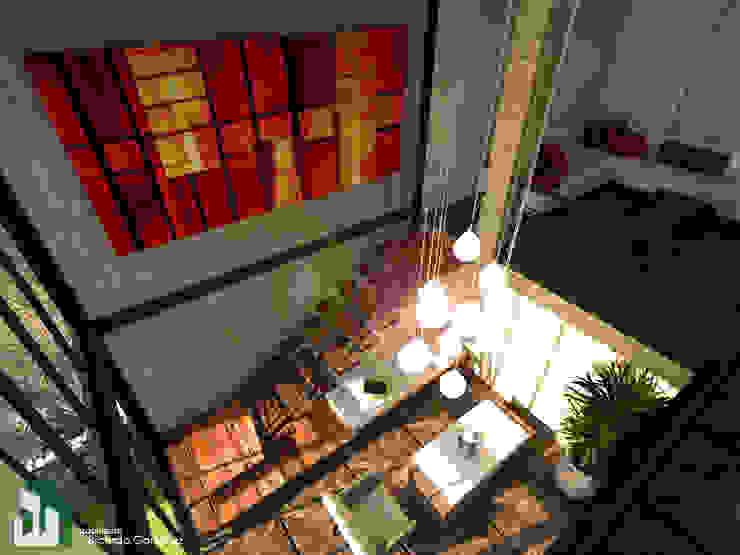 Acceso al interior del recinto de bienvenida Arquitecto Ricardo Gonzalez