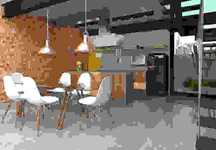 Teia Archdecor Cocinas de estilo industrial