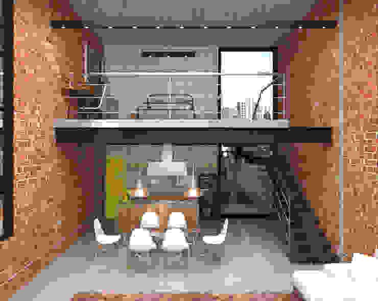 Teia Archdecor Salones de estilo industrial
