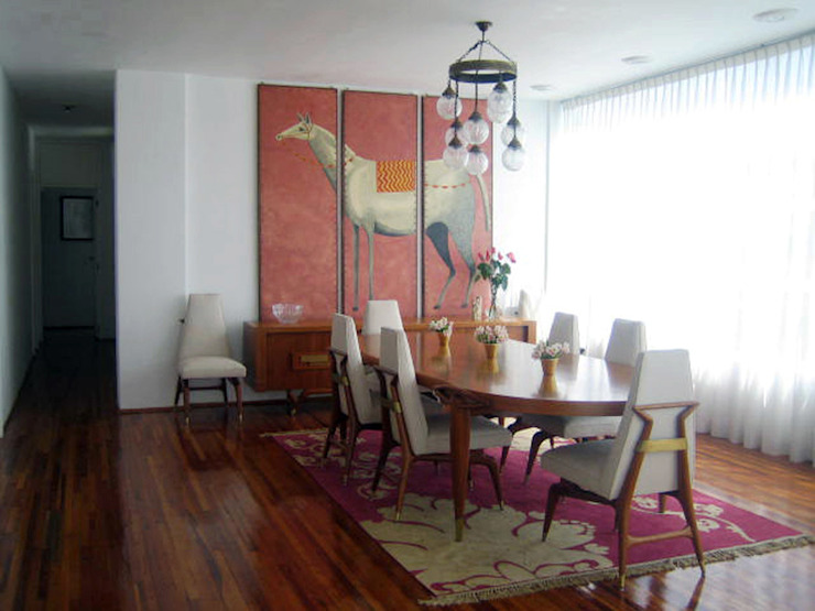 Condesa Decor Comedores coloniales de Erika Winters Design Colonial