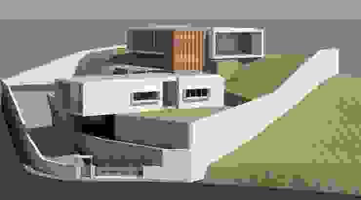 """VIVENDA UNIFAMILIAR """"VHX"""" por Traço M - Arquitectura Moderno"""