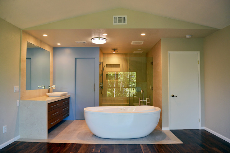 Modern Bathroom by Erika Winters Design Modern