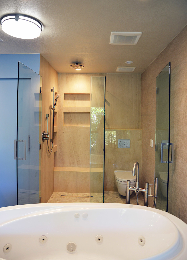 OC Decor Baños modernos de Erika Winters Design Moderno