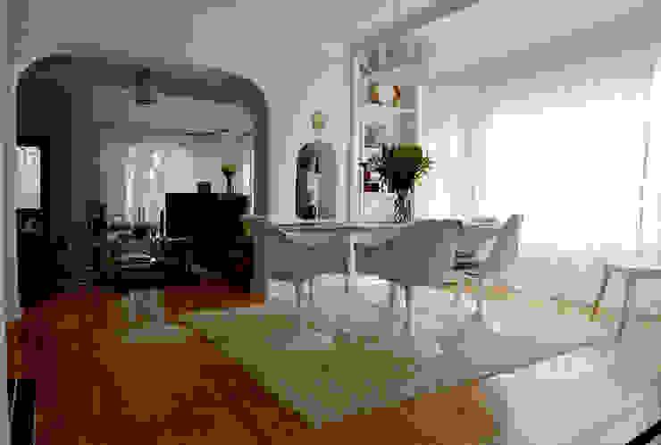 Rejuvenation Project Comedores minimalistas de Erika Winters Design Minimalista