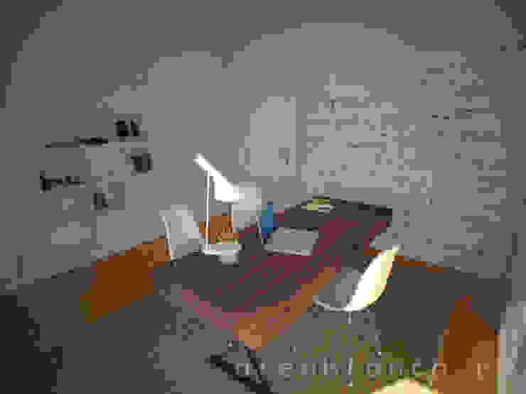 Escritório Escritórios modernos por Areabranca Moderno