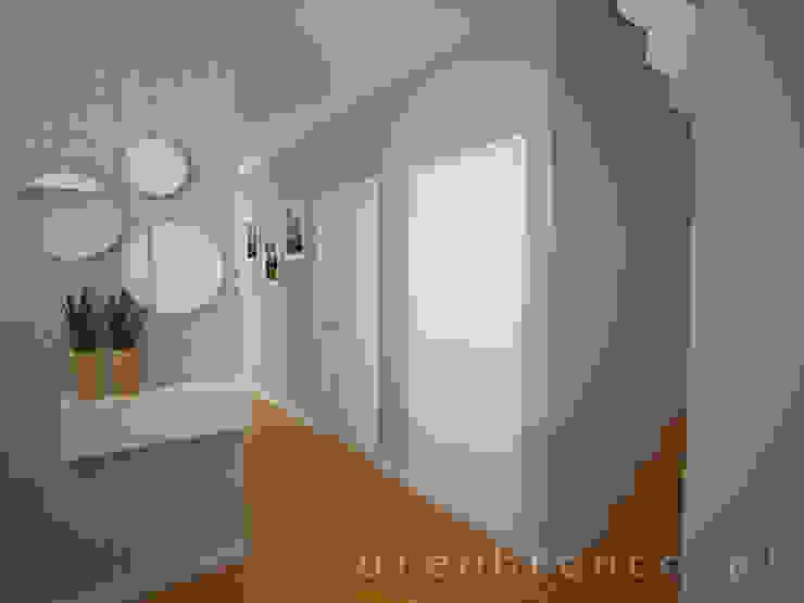 Hall Entrada Corredores, halls e escadas modernos por Areabranca Moderno