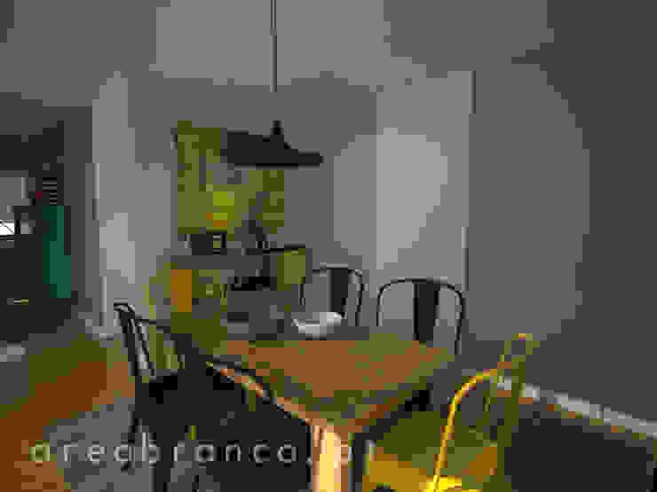 sala de Jantar Salas de jantar modernas por Areabranca Moderno