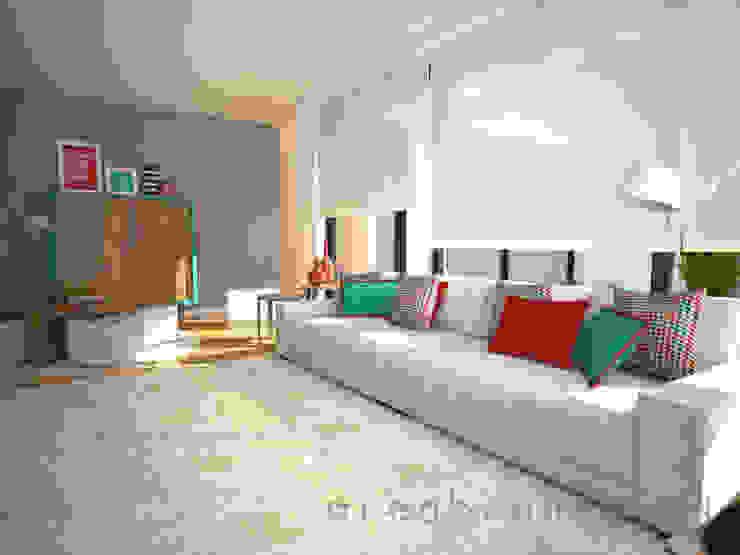 Sala de Estar Salas de estar modernas por Areabranca Moderno
