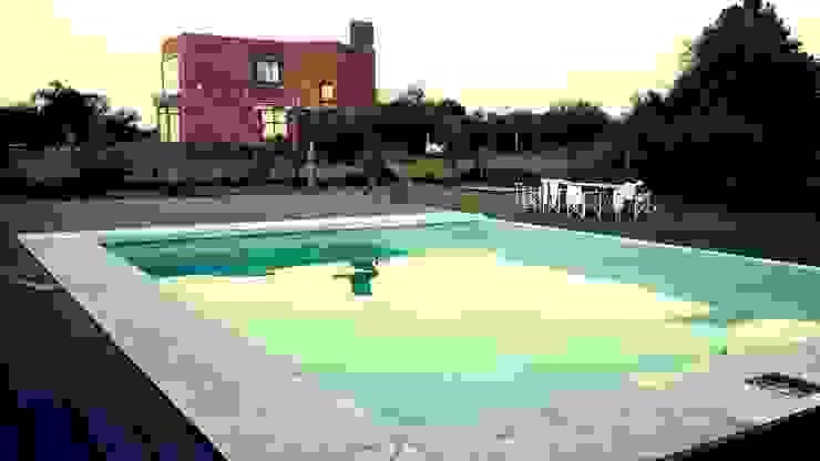 piscina - solarium seco de homify