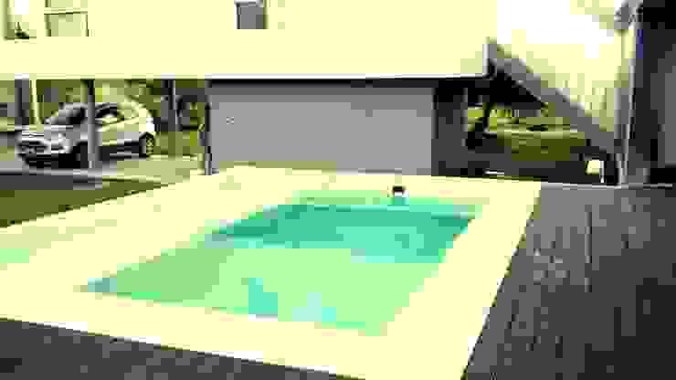piscina solarium humedo de homify