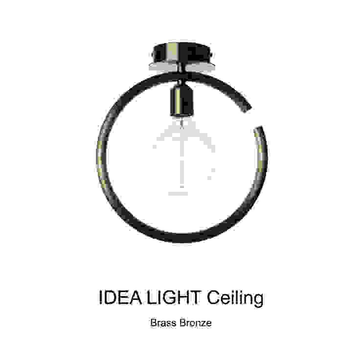 IDEA LIGHT Ceiling_Brass Bronze: SANUC의 현대 ,모던 금속