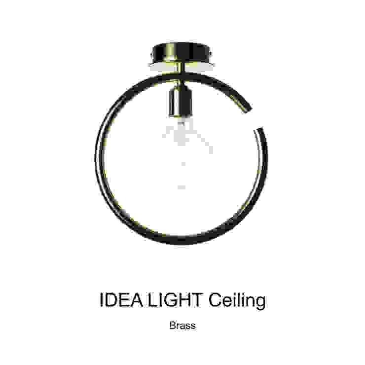 IDEA LIGHT Ceiling_Brass: SANUC의 현대 ,모던 금속