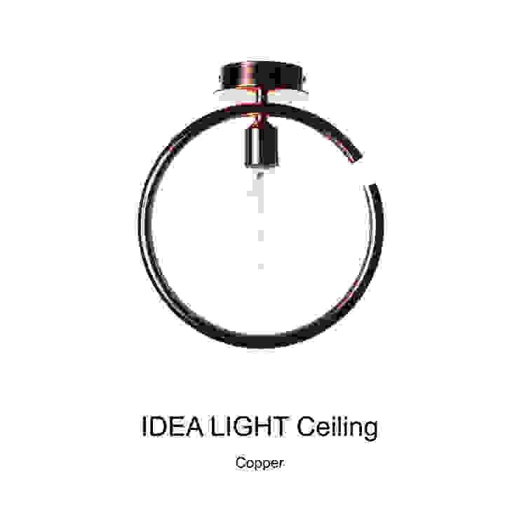 IDEA LIGHT Pendant_Copper: SANUC의 현대 ,모던 금속