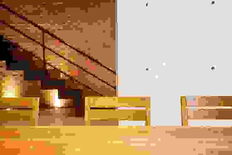 Hogar OV. Comedores industriales de Lozano Arquitectos Industrial Concreto