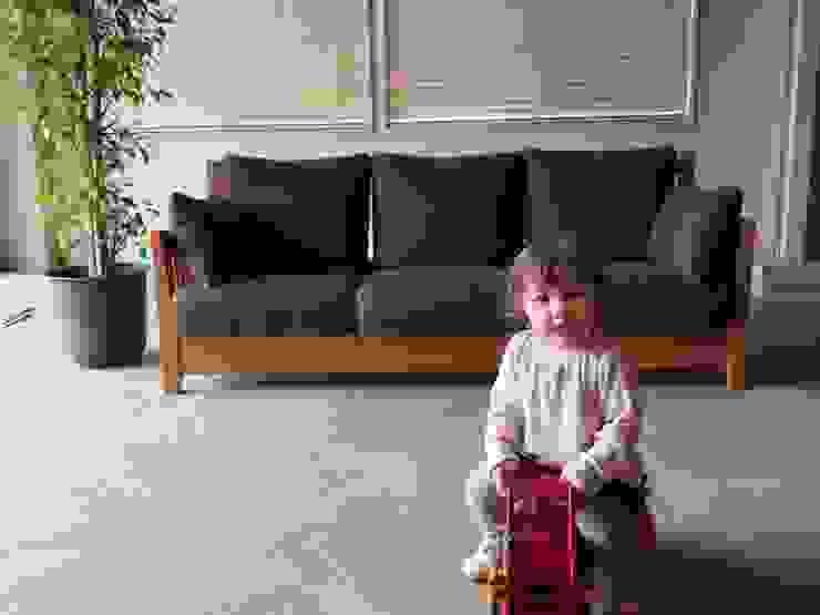 家具SHOP バーズ & 工房ボーボワ 客廳沙發與扶手椅 木頭