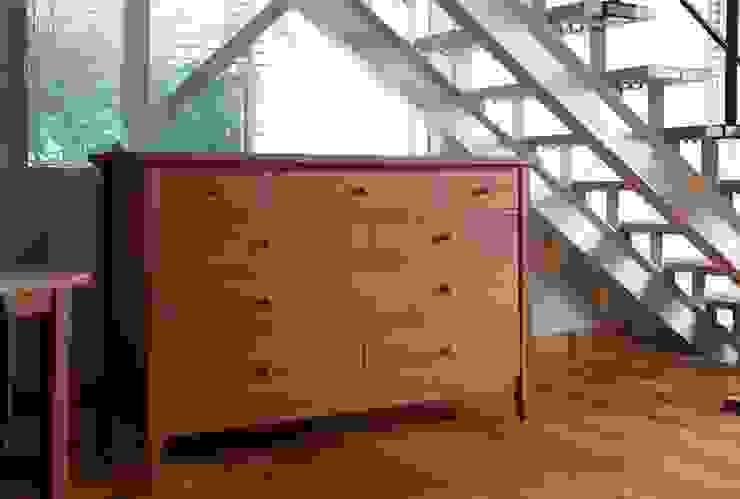 家具SHOP バーズ & 工房ボーボワ 客廳儲藏櫃 木頭