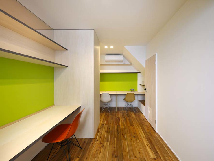 6th studio / 一級建築士事務所 スタジオロク Modern clinics Plywood Green