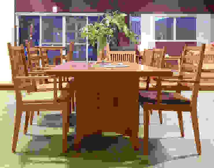 家具SHOP バーズ & 工房ボーボワ 餐廳桌子 木頭
