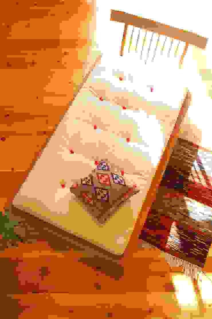 家具SHOP バーズ & 工房ボーボワ 臥室床與床頭櫃 木頭