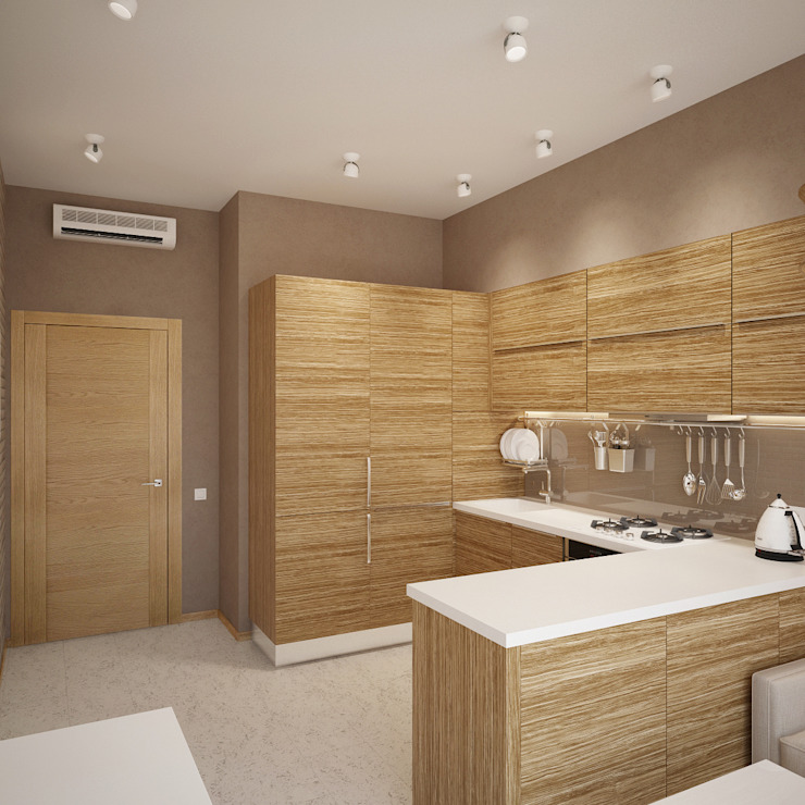 Scandinavian style kitchen by Студия дизайна Марии Губиной Scandinavian