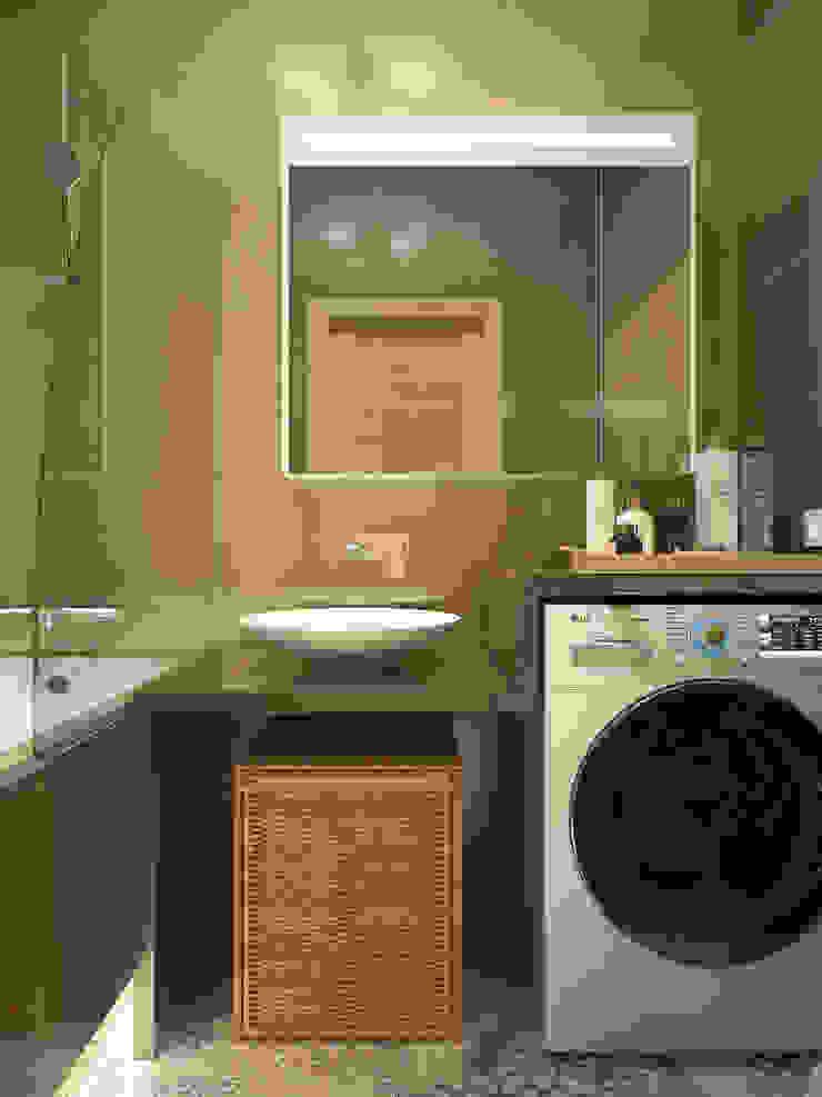 Scandinavian style bathroom by Студия дизайна Марии Губиной Scandinavian