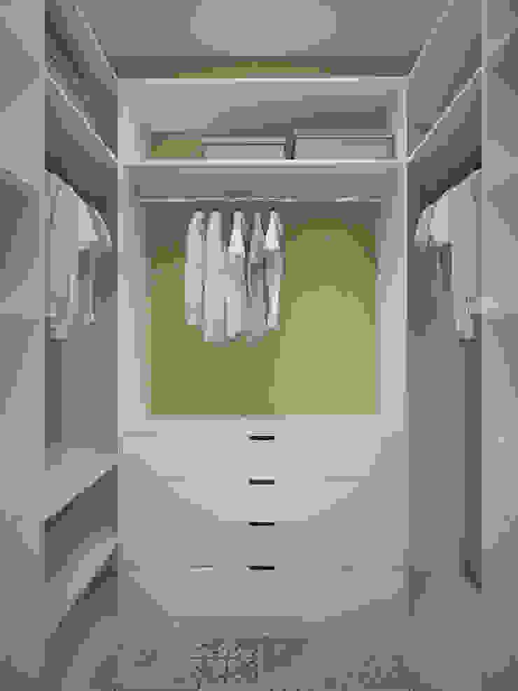 Scandinavian style dressing room by Студия дизайна Марии Губиной Scandinavian