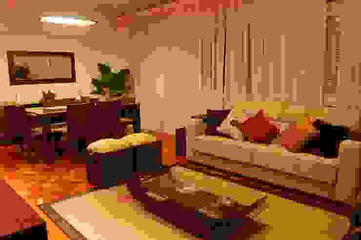 Projeto: Salas de estar  por Staff Arquitetura e Engenharia
