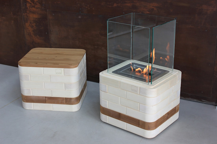 Blocco Arreda Living roomFireplaces & accessories Wood