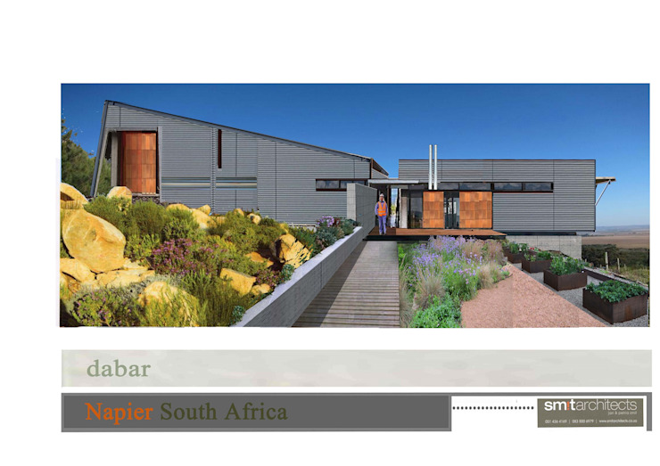 Wine Estate, Pump Station and workers facilities by Smit Architects Industrial Iron/Steel