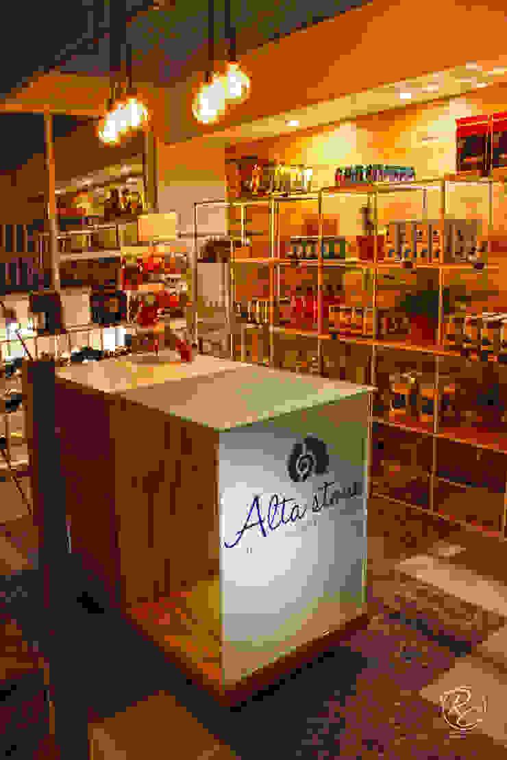 Alta Stone Estudios y despachos modernos de Alfagrama estudio Moderno