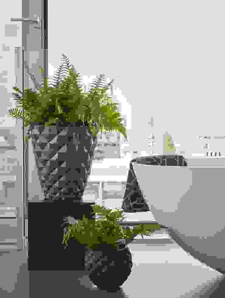 Capi Lux - Pot taps en Pot bol mini Zwart: modern  door Capi Europe, Modern