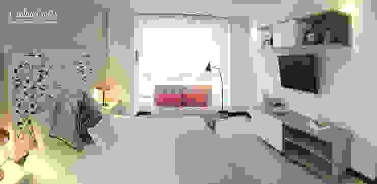 Habitación Principal : Dormitorios de estilo  por Cristina Cortés Diseño y Decoración